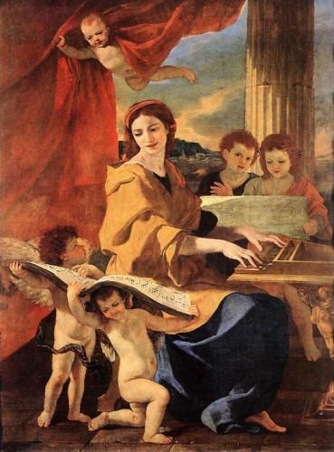 Nicolas Poussin, Santa Cecilia (1627)